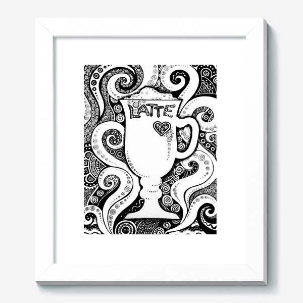 Картина «Latte»