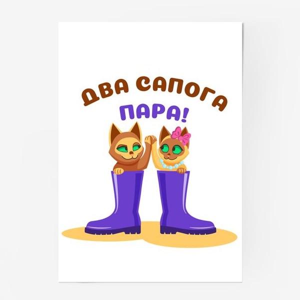 Постер «Два сапога пара!»