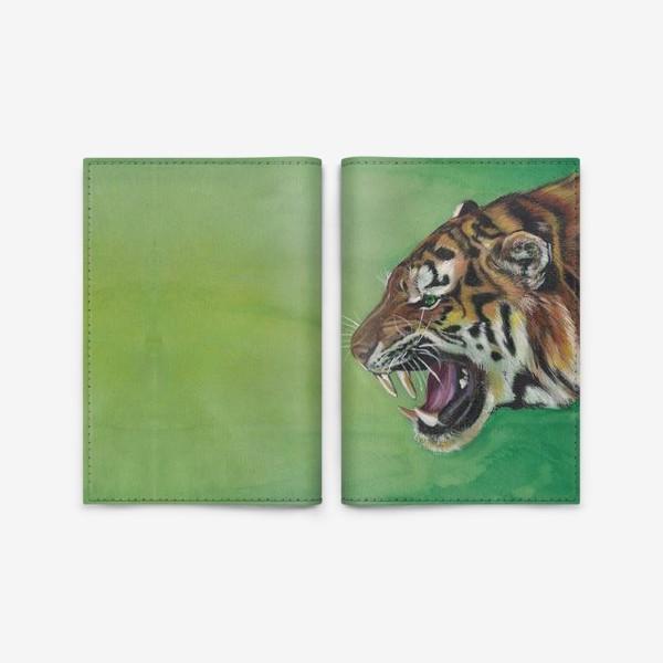 Обложка для паспорта «Тигр »