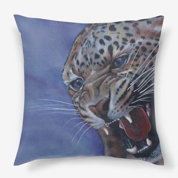 Подушка «Леопард »