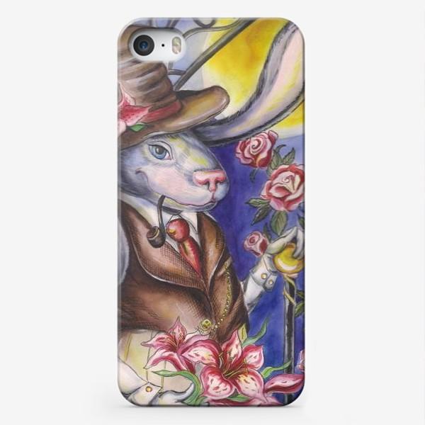 Чехол iPhone «Кролик страны Чудес »