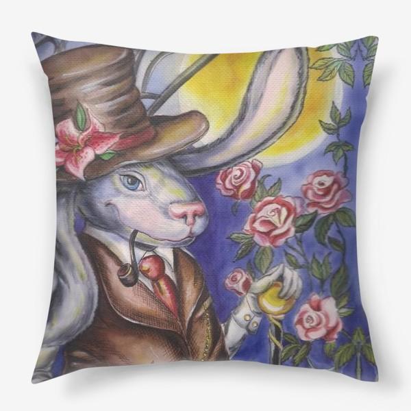 Подушка «Кролик страны Чудес »