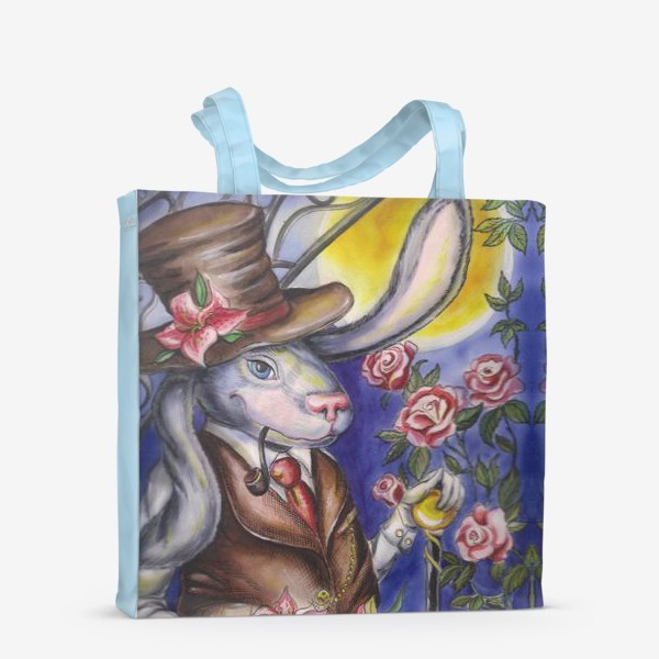 Сумка-шоппер «Кролик страны Чудес »