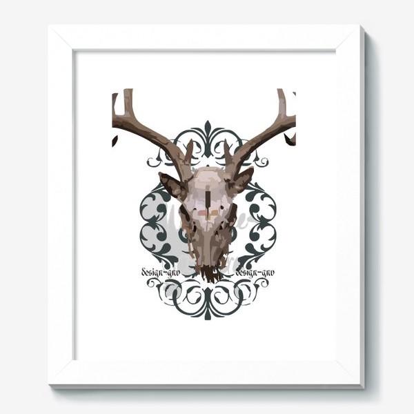 Картина «Череп оленя »