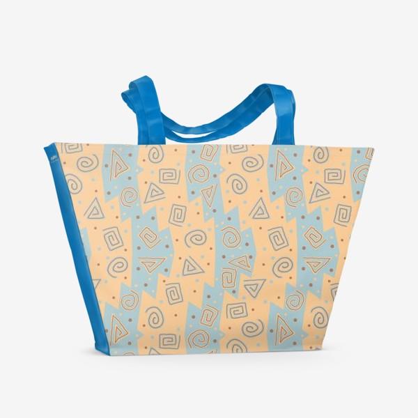 Пляжная сумка «Этнический паттерн»