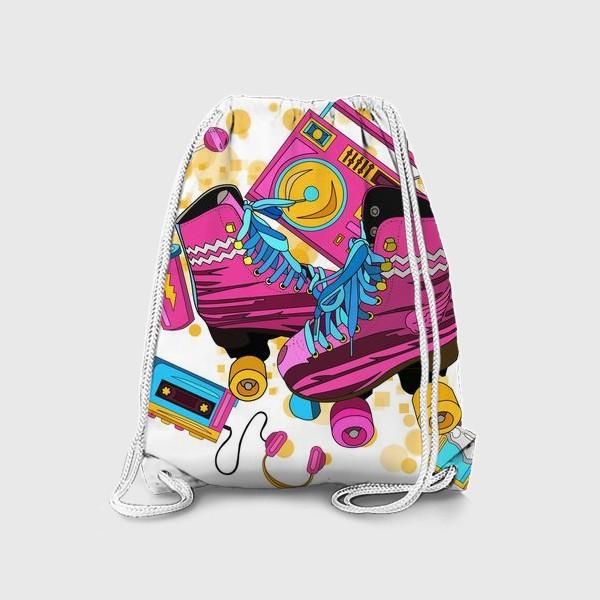 Рюкзак «Розовые ролики»
