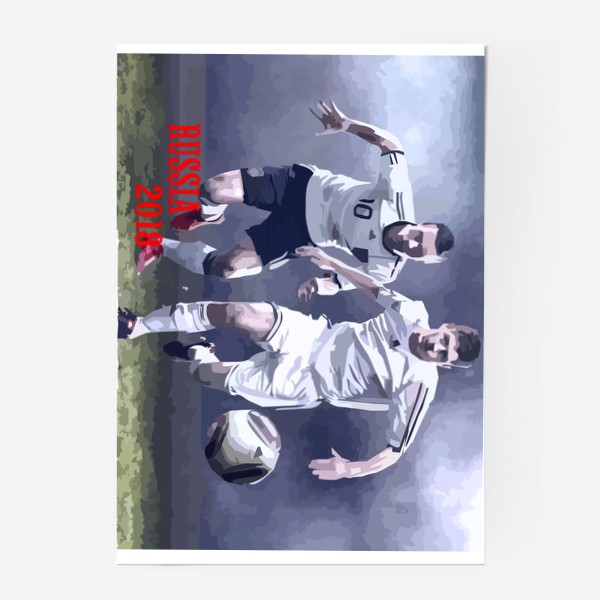 Постер «Футбол 2018»