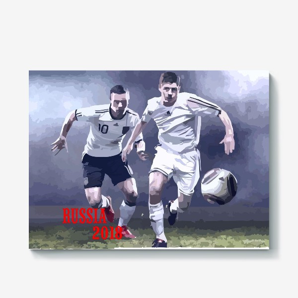 Холст «Футбол 2018»