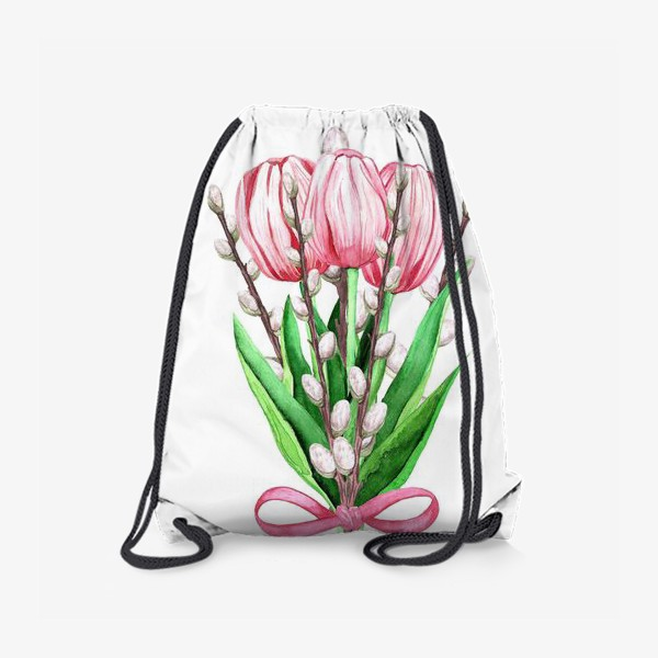 Рюкзак «весенний букетик»