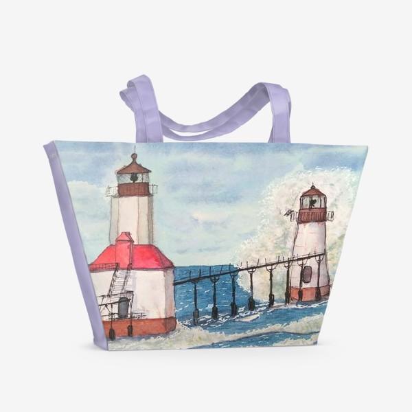 Пляжная сумка «Маяк святого иосифа»
