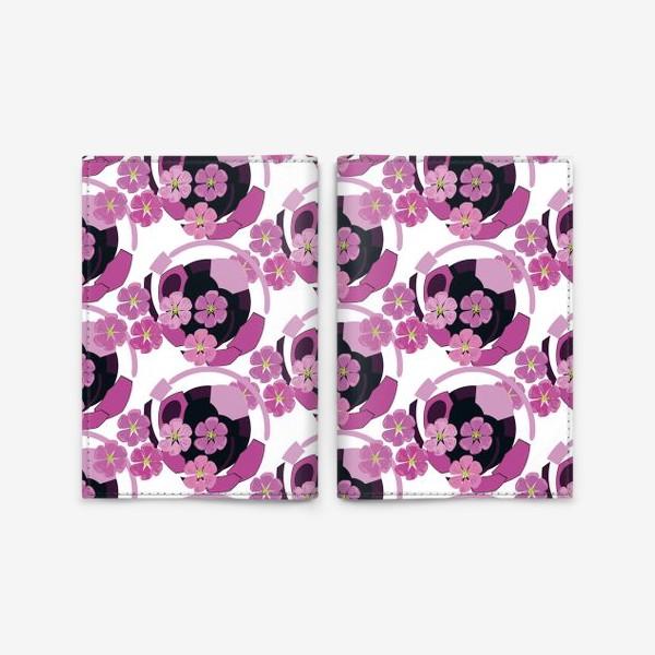 Обложка для паспорта «Сакура цветет»