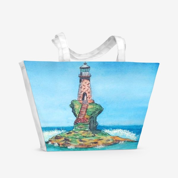Пляжная сумка «Маяк Турлитис»