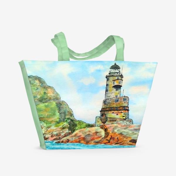 Пляжная сумка «Маяк Анива»