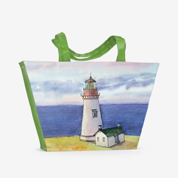 Пляжная сумка «Маяк Яквина»