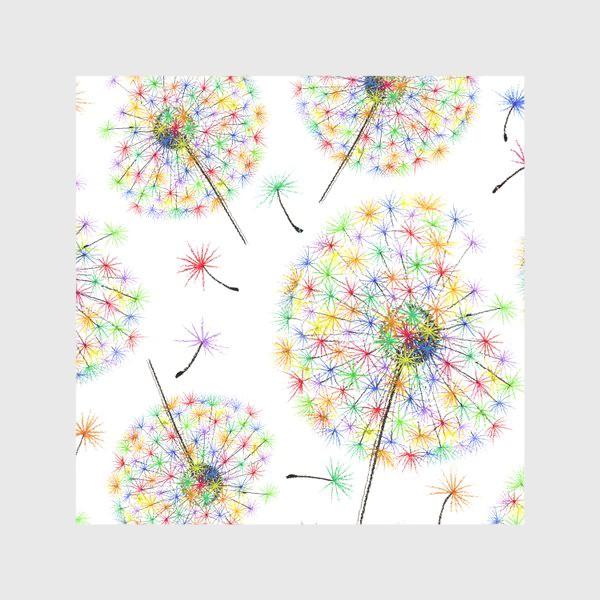Скатерть «Одуванчики-радуга»