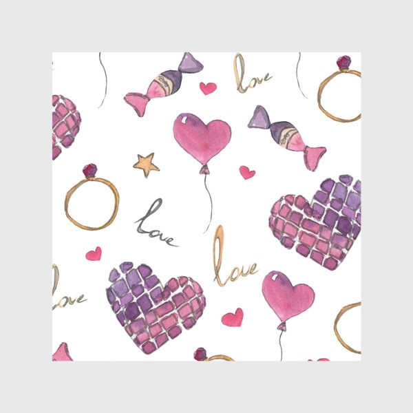 Шторы «Любовь»