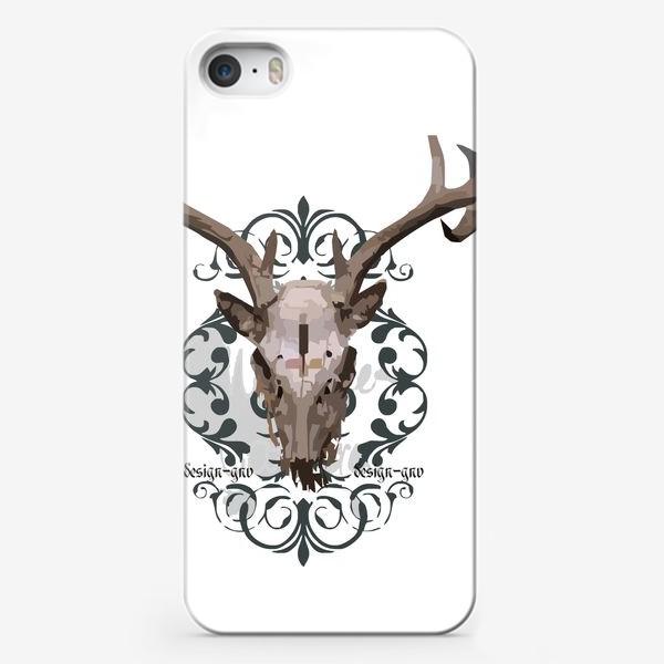 Чехол iPhone «Череп оленя »