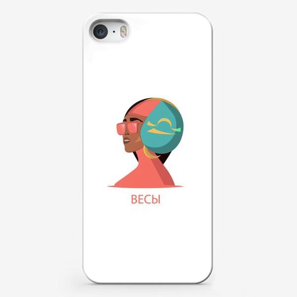 Чехол iPhone «Знак зодиака. Весы»