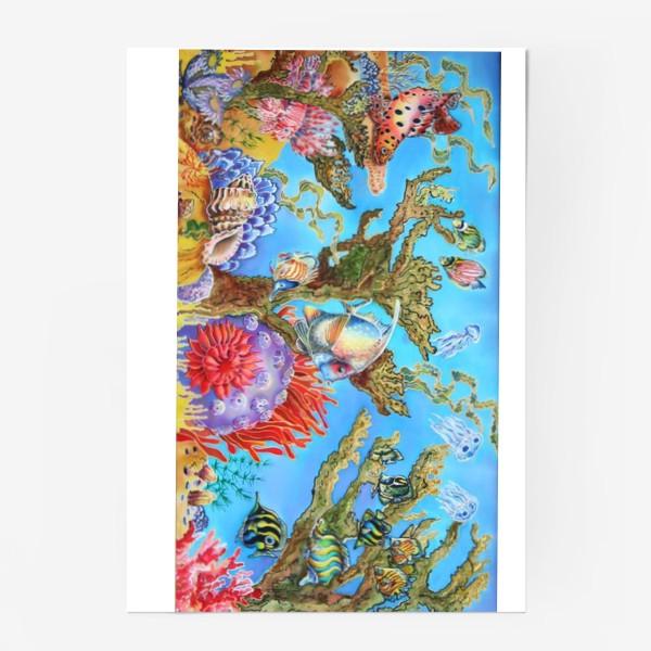 Постер «Коралловый риф »