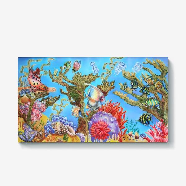 Холст «Коралловый риф »