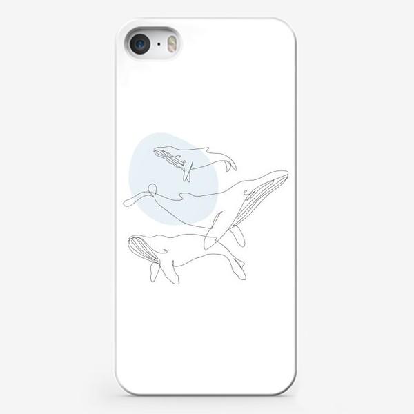 Чехол iPhone «Киты»
