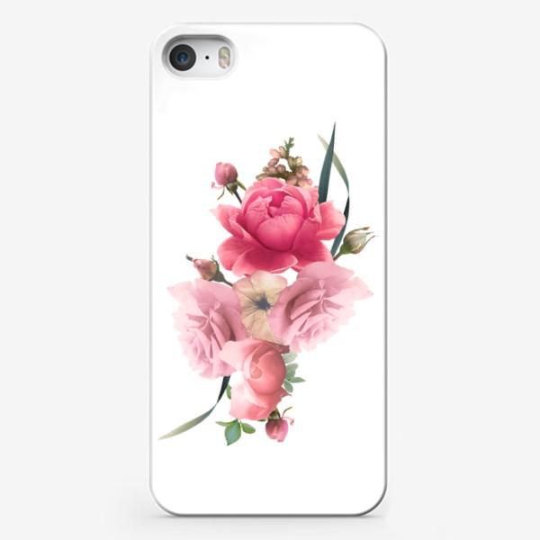 Чехол iPhone «Розы голд»