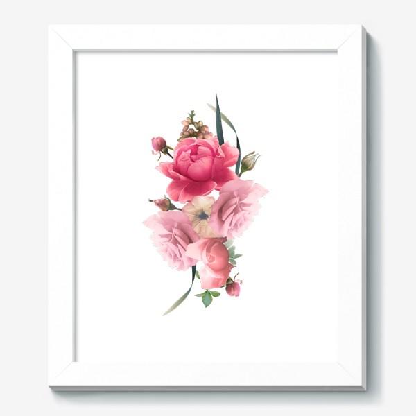Картина «Розы голд»