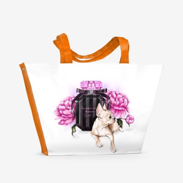Пляжная сумка «Fashion dog»