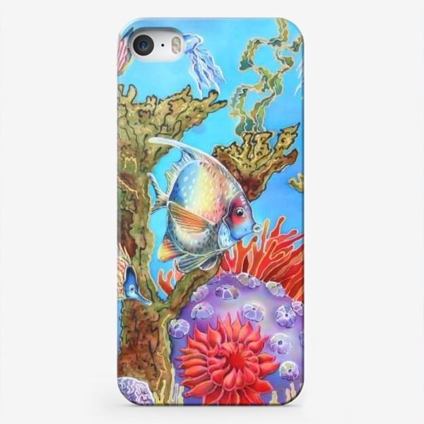 Чехол iPhone «Коралловый риф »