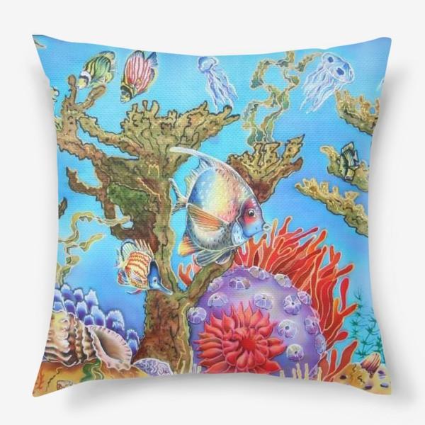 Подушка «Коралловый риф »