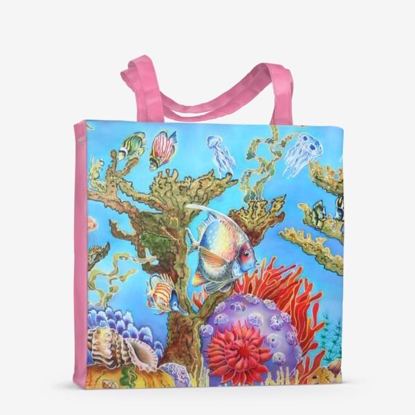 Сумка-шоппер «Коралловый риф »