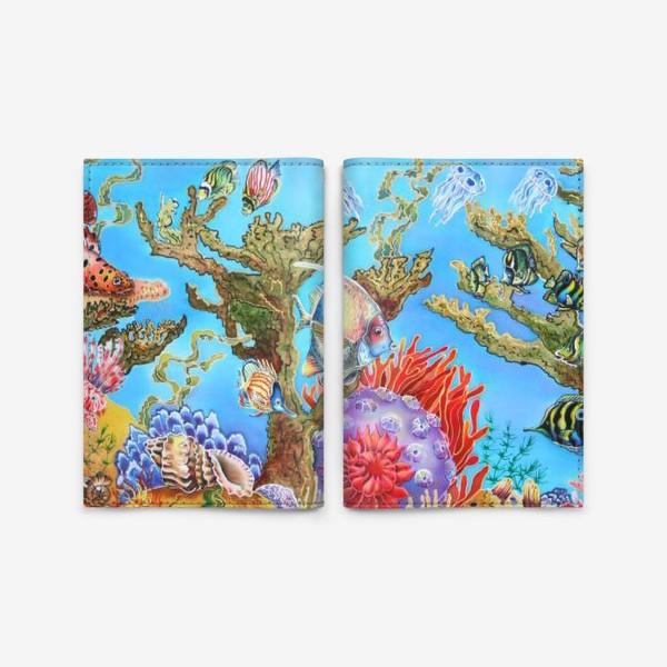 Обложка для паспорта «Коралловый риф »