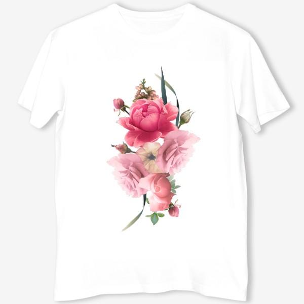 Футболка «Розы голд»