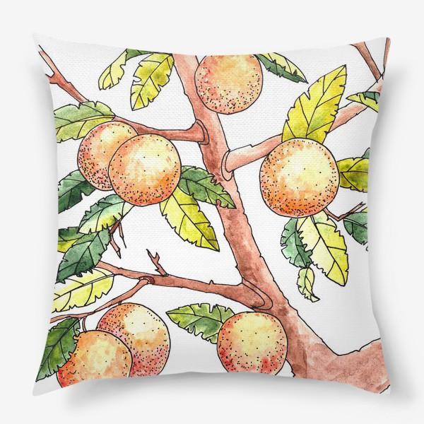 Подушка «Апельсиновое дерево»