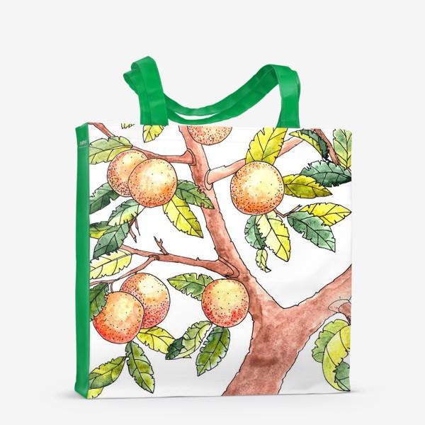 Сумка-шоппер «Апельсиновое дерево»