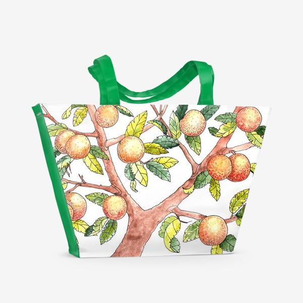 Пляжная сумка «Апельсиновое дерево»