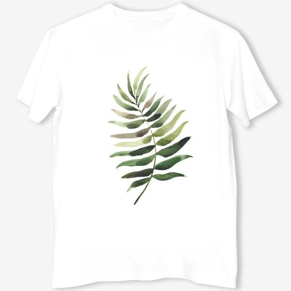 Футболка «тропический лист, растение, тропики, листья»