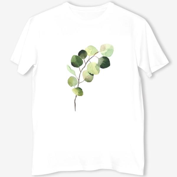 Футболка «растение, листья»