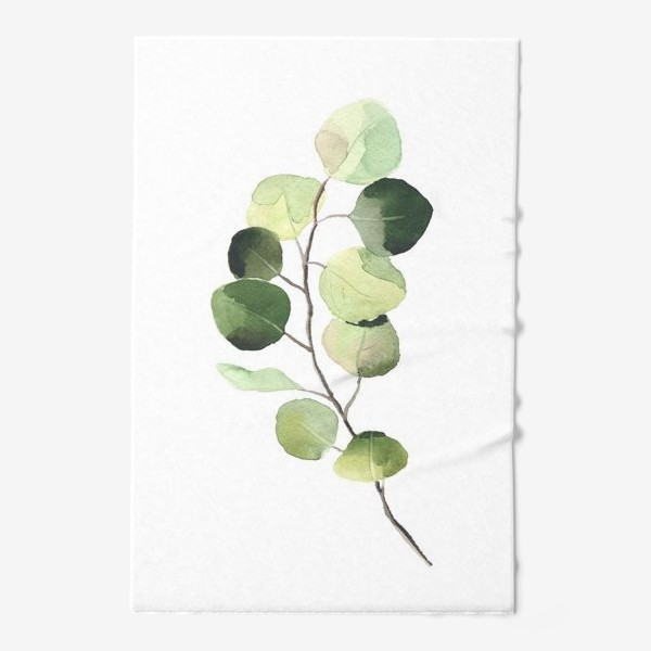 Полотенце «растение, листья»