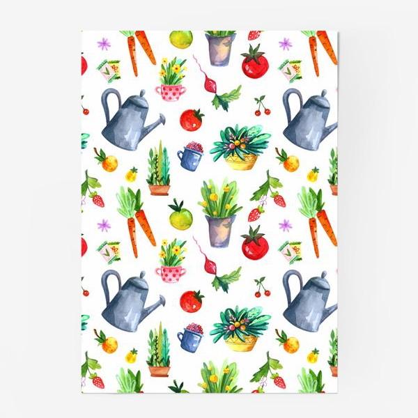Постер «Летний сад. Паттерн»