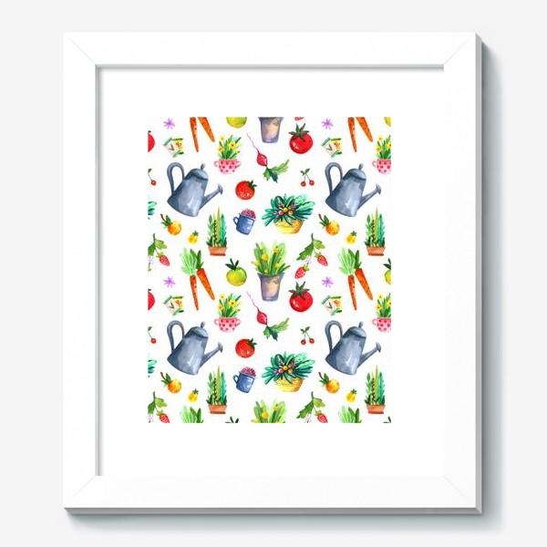 Картина «Летний сад. Паттерн»