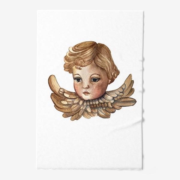 Полотенце «Путти - винтажный золотой ангел»