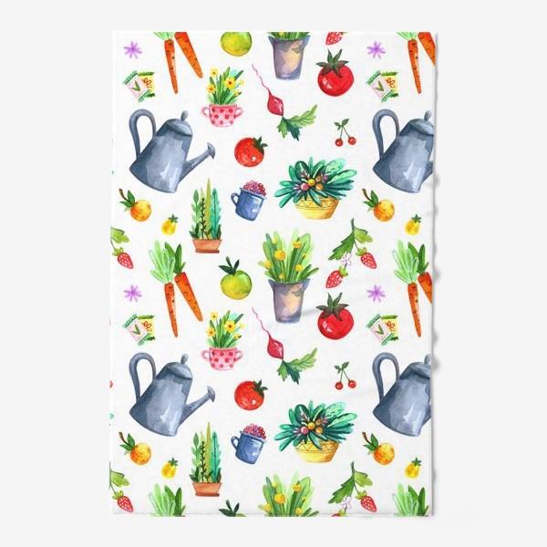 Полотенце «Летний сад. Паттерн»