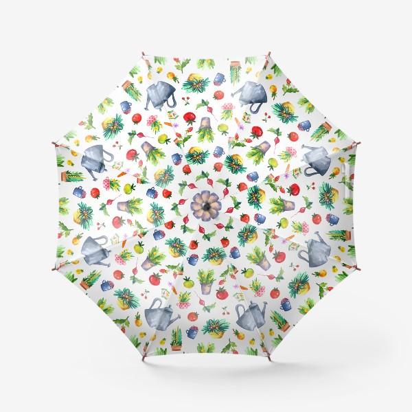 Зонт «Летний сад. Паттерн»