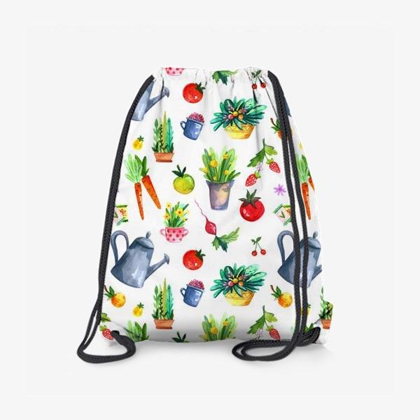 Рюкзак «Летний сад. Паттерн»