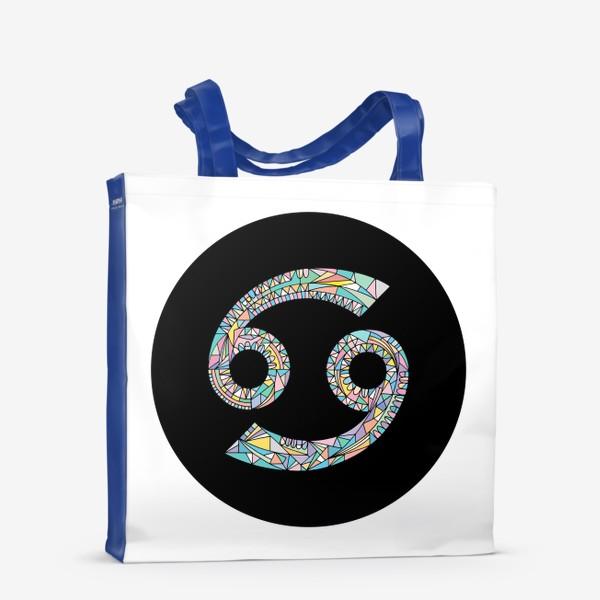 Сумка-шоппер «Рак знак зодиака»