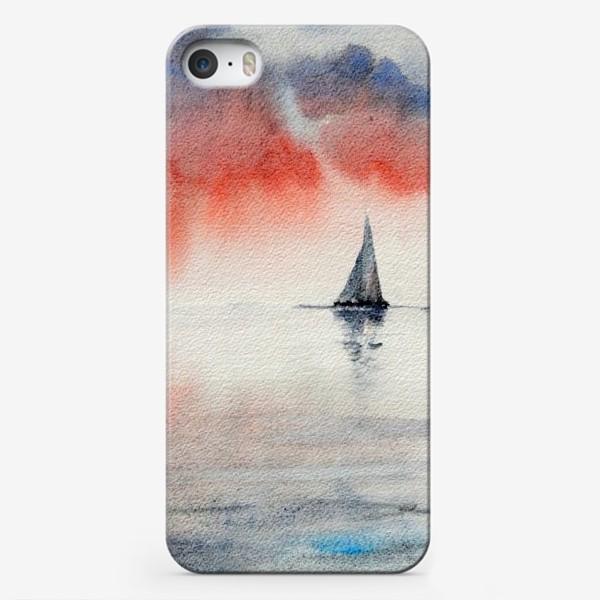 Чехол iPhone «Между небом и водой»