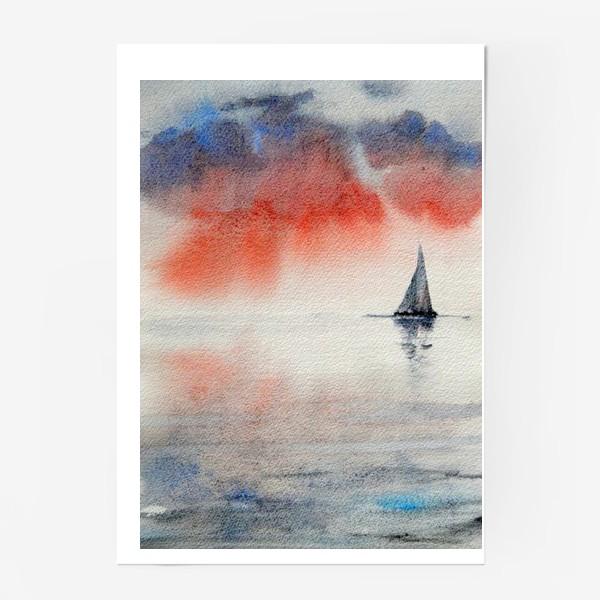Постер «Между небом и водой»
