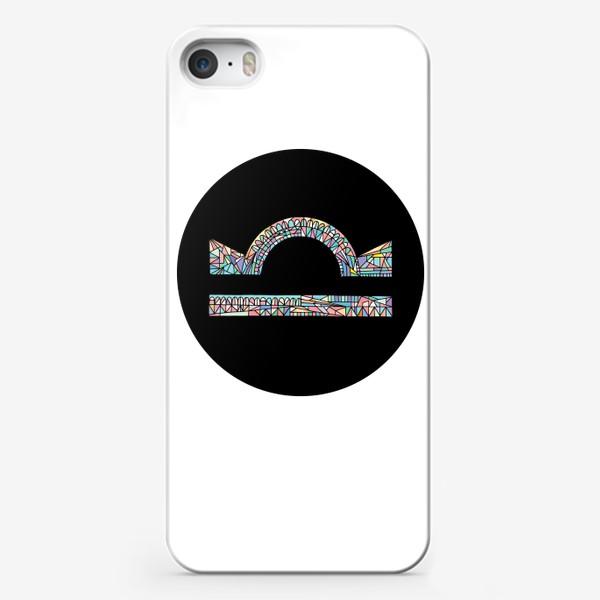 Чехол iPhone «Весы знак зодиака»