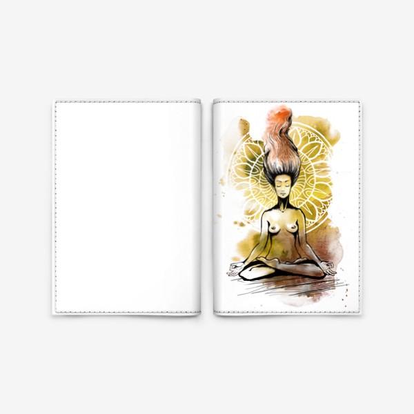 Обложка для паспорта «Лотос»